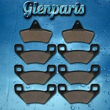 Brake Pads Fits Arctic Cat 650 4x4 V2 V-TWIN 2004-2005 Front Rear Brakes