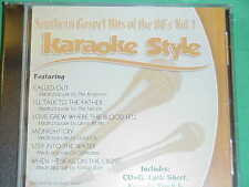 Southern Gospel Hits of the 1980's #1 Christian Daywind  Karaoke Style  CD+G New