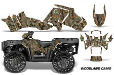 Polaris Sportsman WV850 ATV Graphic Kit Wrap Quad Accessories WV Decal WOOD CAMO