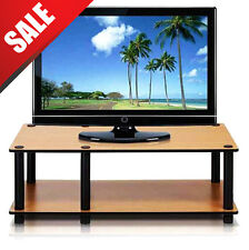 TV Stand Wood Entertainment Media Center Furniture Console Cabinet Home Storage