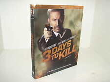 3 Days to a Kill  (Blu Ray DVD)   Kevin Costner!   **LOW PRICE**