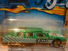 HW170 HOT WHEELS 2001  HW LIMOZEEN TURBO TAXI  SERIES 2/4   # 054 LIMOUSINE