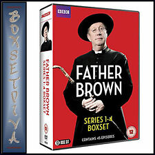 FATHER BROWN - COMPLETE SERIES 1 2 3 & 4  **BRAND NEW DVD BOXSET***