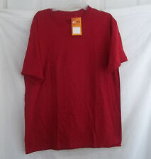 MEN'S WOMEN'S BOYS CHAMPION PLAIN TSHIRT SHIRT COTTON NEW WINE T-SHIRT LARGE