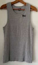 Everlast Boxing Ribbed Cotton Tank Size XXL Mens Grey