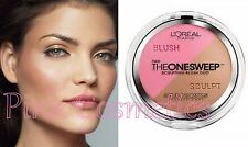 L'OREAL BLUSH PALETTE The One Sweep Sculpting Blusher Duo in 820 Poppy