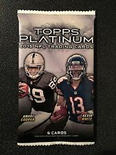 2015 Topps Platinum Football Hot Pack Guaranteed #'d/50 Autograph Card! Winston?