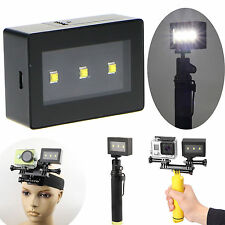 2 in 1 Mini Portable LED Flash Spot Fill Light Lamp For GoPro Hero 4 3+ 3 Camera