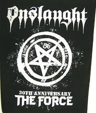 ONSLAUGHT RÜCKENAUFNÄHER / BACKPATCH # 1 THE FORCE 30th ANNIVERSARY - 36x29cm