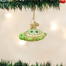 Glistening Mini Turtle Old World Christmas Tree Ornament NWT -  12326