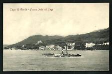 Fasano ( Lago di Garda / Brescia ) : Hotel sul Lago - cartolina non viaggiata