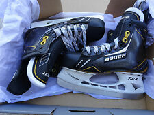 BAUER SUPREME PRO TOTAL ONE  NXG HOCKEY SKATES PRO LS3 STEEL,CUSTOMS TONGUE