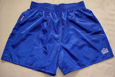 Blue Satin Nylon Soccer Shorts by Admiral - Men's Large *NEW*