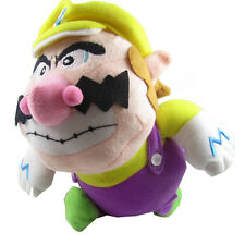 "Super Mario Brothers 8"" Wario Plush Doll Figure Stuffed Toy"