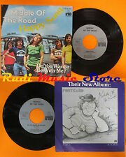 LP 45 7'MIDDLE OF THE ROAD Happy song Do you wanna 1975 italy ARIOLA(*)cd mc dvd