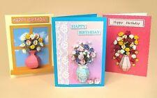 A4 Card Making Templates for 3D Vase Embellishments by Card Carousel