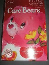SEALED CARLTON CARDS CARE BEARS 1995