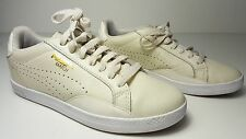 size 5.5 Puma Match Lo Marshmallow Leather Tennis Running Sneakers Womens Shoes