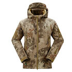 Men Outdoor Jacket Waterproof TAD Coat Shark Skin Soft Shell Hoodie Hunting Duty