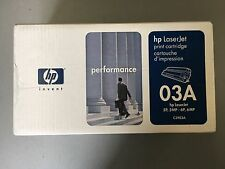 HP C3903A Toner cartridge 03A, NEW AND UNOPENED, REF 1