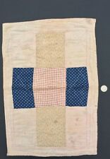 Antique Patchwork Doll Crib Quilt From American Folk Art Museum Collection