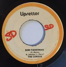THE CONGOS - ROW FISHERMAN - UPSETTER ( RARE ROOTS 7 )