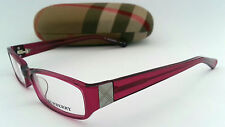 BURBERRY 8403 FRAMES / GLASSES - 50-17-135 - LZ6 -  RED - 28,000+ F/BACK*