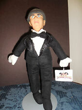 """14"""" VTG PLAY-BY-PLAY THE THREE STOOGES *MOE* BLACK TUX AND BOWTIE WT 1999 EUC E9"""