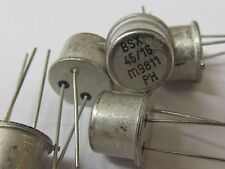 10 Stück - BSX45-16 - PHILIPS NPN Transistor - TO39