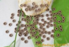 700PCS Antiqued copper daisy spacer beads 5mm W303