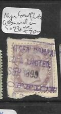 NIGER COAST PROTECTORATE (P1501BB) QV 1D GB USED IN FORERUNNER SGZ 30 VFU