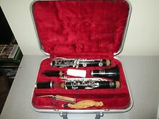 Vintage Buescher Aristocrat Clarinet With Blue Case