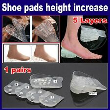 "MAX  TALL shoe HEEL insole Gel Inserts Lifts add 2"" AS SEEN ON TV maxtall"