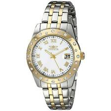 Invicta 17489 Women's Angel White MOP Dial Two Tone Steel Watch