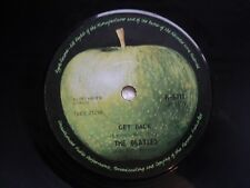 The Beatles - Get back/Don't let me down - Rare Malaysia 45 RPM release