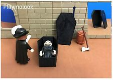 ATAUD MEDIEVAL CASTILLO COFFIN CERCUEIL CUSTOM PLAYMOBIL FIGURAS NO INCLUIDAS