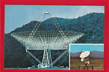 WV49 Astronomy Observatory Radio Telescope Greenbank West Virginia Postcard