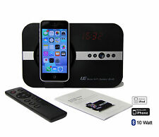 Soundsystem Uhr Bluetooth Radio f Apple iPhone 5 6 plus ipad mini Air iPod Touch