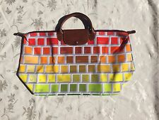 LONGCHAMP X JEREMY SCOTT Le Pliage Keyboard Bag NEW AND LIMITED XLARGE IN HAND