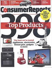 Consumer Reports Magazine November 2009 Top Products Tires Toyota Prius Printers