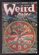 Weird Tales - January 1950 - August Derleth, Fredric Brown, Seabury Quinn