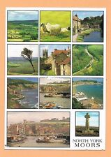 North York Moors - Lilla Cross Whitby Used Postcard UK North Yorkshire