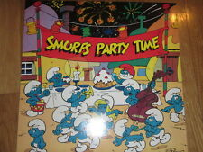 SMURFS PARTY TIME vinyl record  PUFFI PITUFO SCHTROUMPF Peyo1983 Dureco Holland