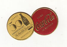 50th ANNIVERSARY THE COCA-COLA BOTTLING CO. ROCHESTER   N.Y. STICKER