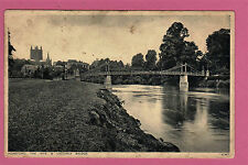 Hereford , The Wye and Victoria Bridge, Herefordshire