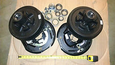 "Trailer 12"" x 2"" Hub Drum KIT Electric Brakes 6000 # Axle 6 on 5.5"" DEXTER"