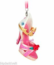 New Disney Parks Sleeping Beauty Princess Aurora Runway Shoe Ornament Christmas