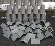 25 MAPLE SYRUP  Sap BUCKETS + POINTED  Lids Covers + Taps Spouts Spiles
