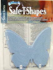 Compac Safe-T Shapes Non-Slip Bath Tub Appliques Stickers Blue Butterfly