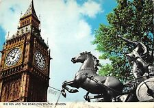 BR91993 big ben and the boadicea statue london   uk